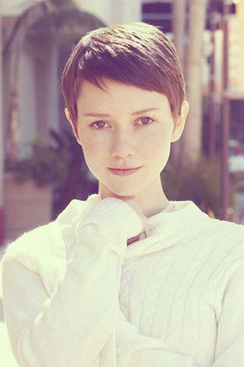 Valorie Curry Pixie Haircuts