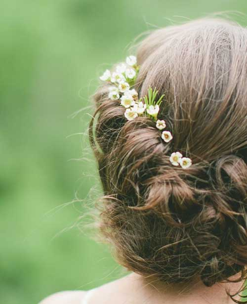 Vintage Weddings Hairstyles Images