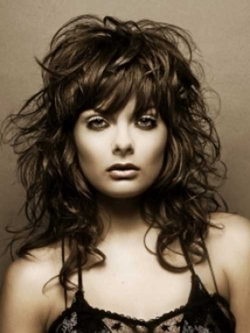 Enjoyable 30 Best Curly Hair With Bangs Hairstyles Amp Haircuts 2016 2017 Hairstyle Inspiration Daily Dogsangcom