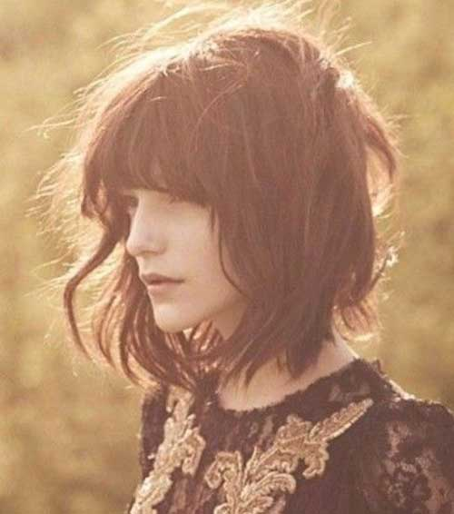 Best Wavy Long Bob Haircut