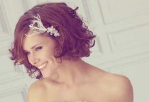 Cute Wedding Hair for Short Hair