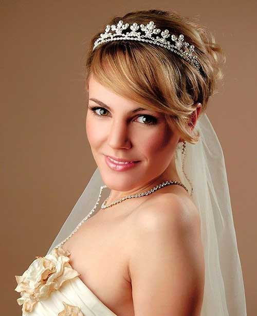 Medium Wedding Hairstyles: 30 Wedding Hair Styles For Short Hair