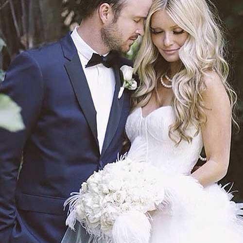 Gorgeous Wedding Hairstyles Wavy Curls