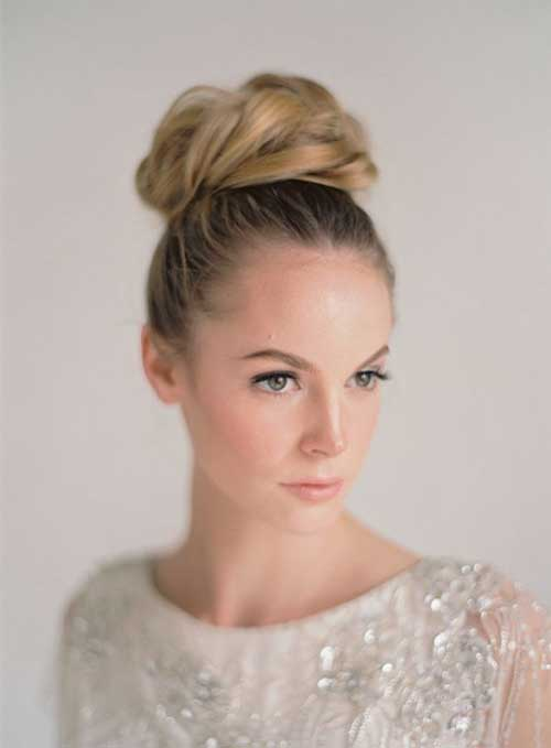 Best Wedding Top Buns