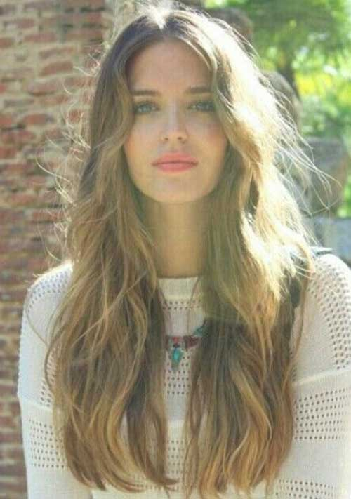 Womens Girls Popular Long Fashionable Hair