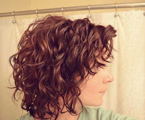 Curly Layered Hairstyles-12