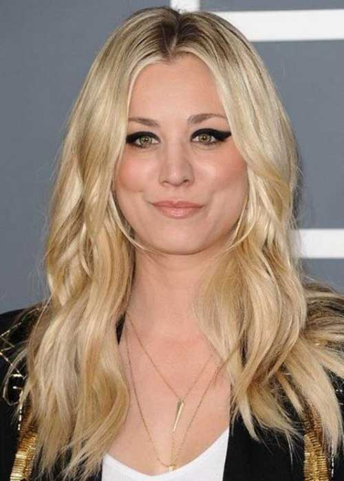 Long Hair For Round Faces : Best long hairstyles for round faces