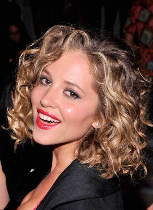 Curly Layered Hairstyles-26