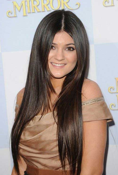 Enjoyable 30 Celebrity Long Hairstyles 2015 2016 Hairstyles Amp Haircuts Hairstyle Inspiration Daily Dogsangcom