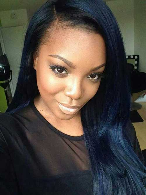 Hairstyles for Black Girls with Long Hair-20