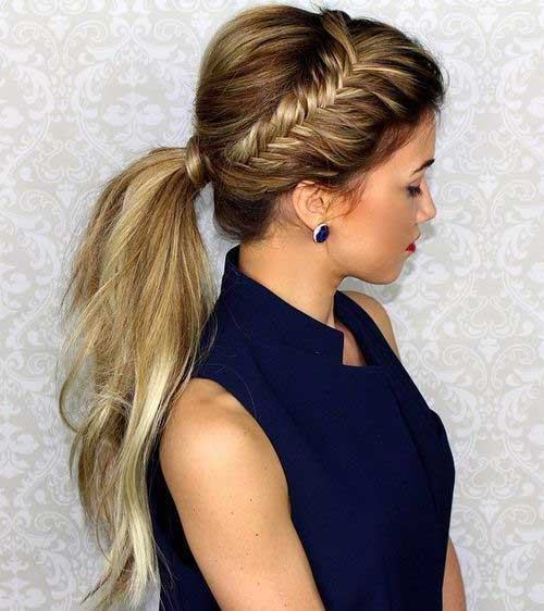 15 fishtail braids hairstyles hairstyles haircuts 2016 for Fish tail hair