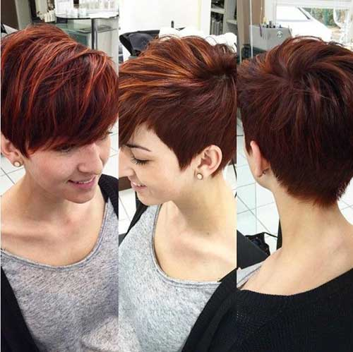 Long Pixie Haircut for Thick Hair-16