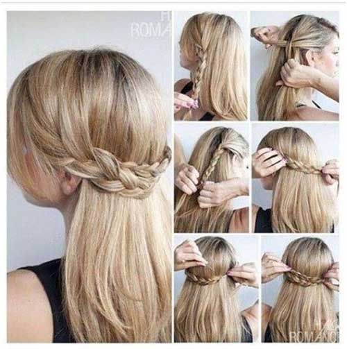 Hairstyles For Straight Hair hairstyles for long straight hair oval face Party Hairstyles For Straight Hair 8