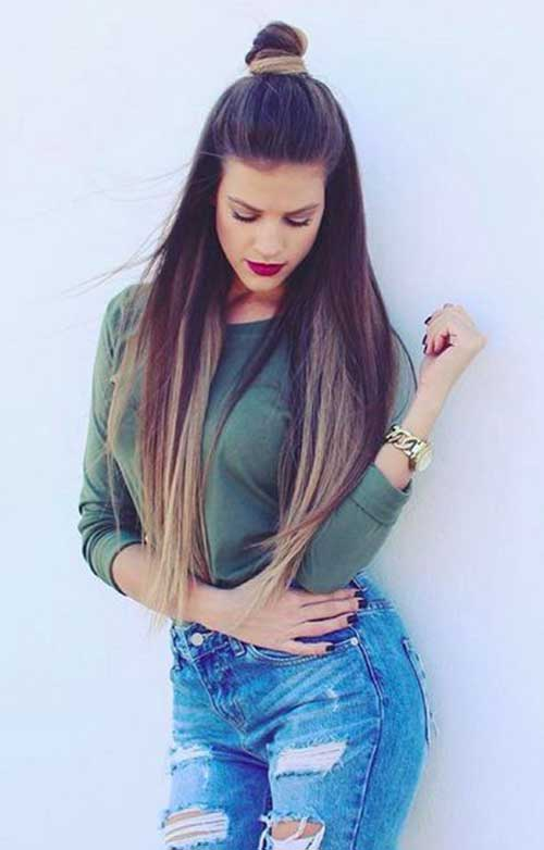 Party Hairstyles for Straight Hair-9