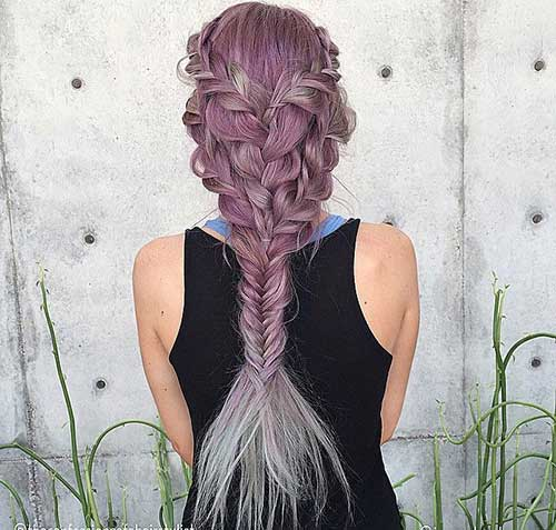 Sensational 15 Fishtail Braids Hairstyles Hairstyles Amp Haircuts 2016 2017 Hairstyle Inspiration Daily Dogsangcom
