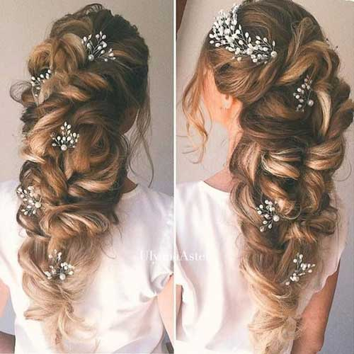 Half Up Down Bridal Hair