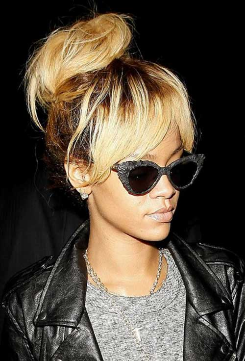 Swell 15 Easy Messy Buns Hairstyles Amp Haircuts 2016 2017 Hairstyles For Women Draintrainus