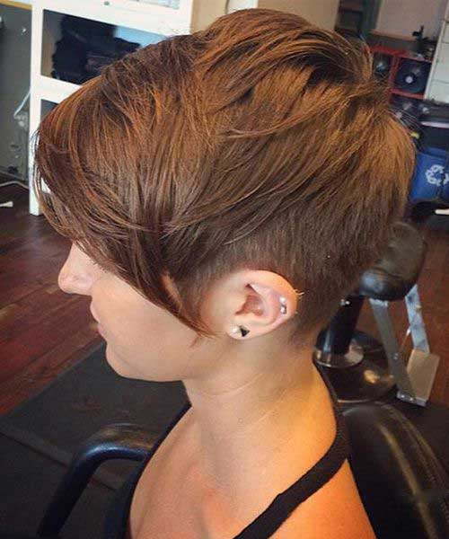 Long Pixie Cuts for Thick Hair