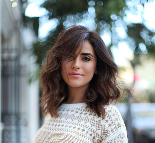 2. Mid Length Hairstyle. Mid Length Hairstyles
