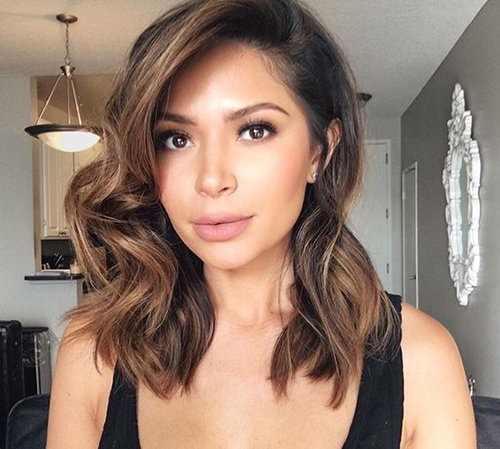 Remarkable 20 Latest Mid Length Hairstyles Hairstyles Amp Haircuts 2016 2017 Short Hairstyles Gunalazisus