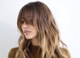 15 Lovely Hairstyles With Long Bangs