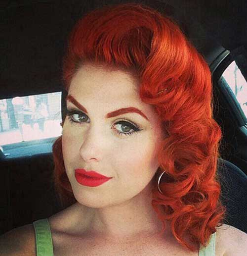 Rockabilly Style Hair for Ladies