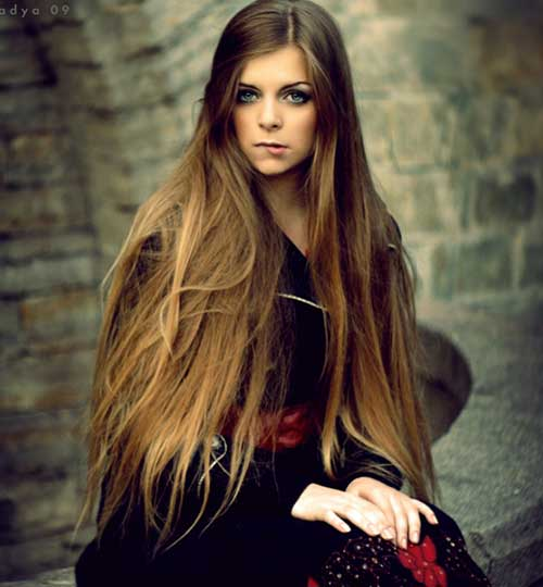 Hairstyles for Long Hair Girls -13