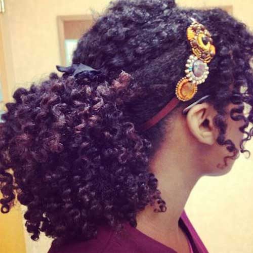Hairstyles for Black Women with Natural Hair-14