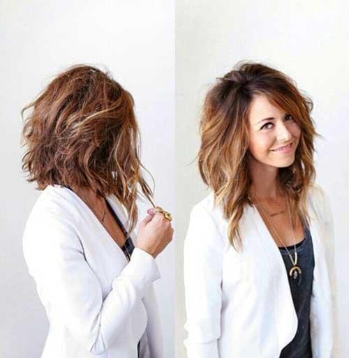 Superb Trendy Mid Length Hair Cuts Hairstyles Haircuts 2016 2017 Hairstyles For Men Maxibearus