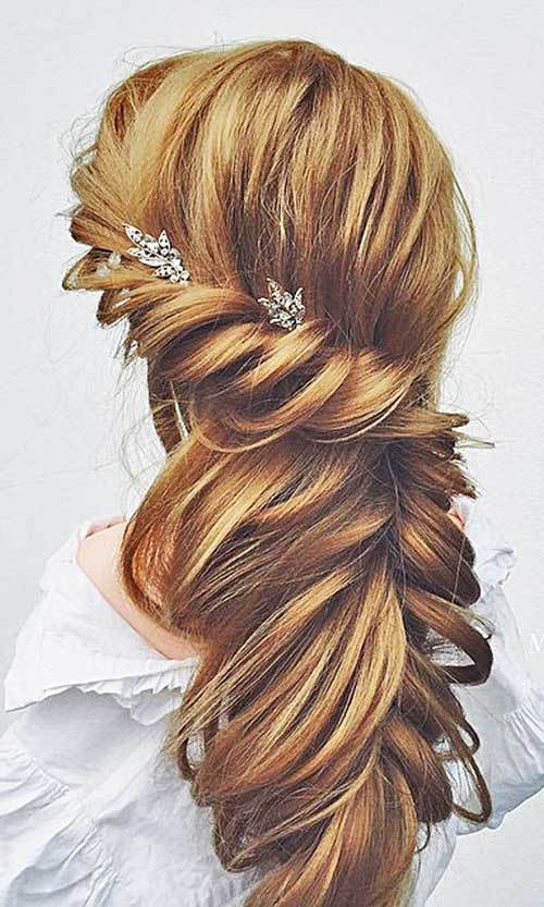 beautiful bridal updos for long hair hairstyles haircuts 2016