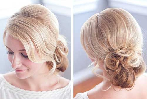 Hairstyle for Evening Party