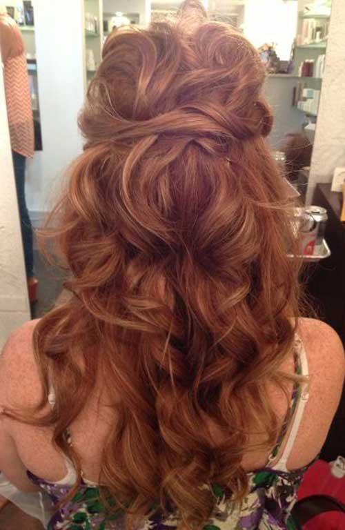 Long Hairstyle for Evening Party
