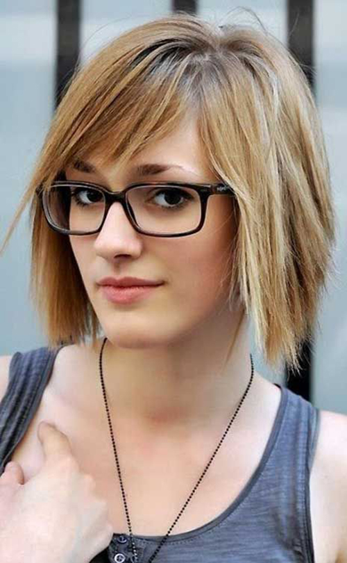 Hairstyles 2017 With Glasses : ... Hairstyles for Women with Glasses Hairstyles & Haircuts 2016 - 2017