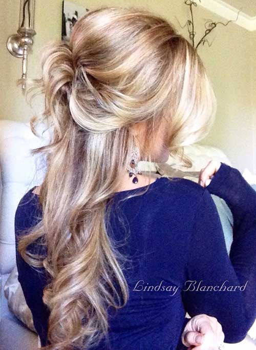 Half Down Half Up Hairstyles-11