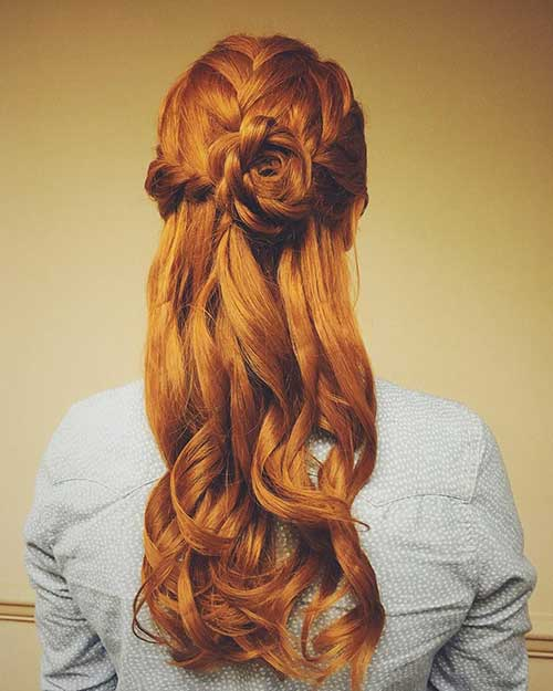 Hairstyle for Night Party-12