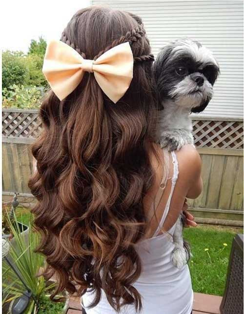 Half Down Half Up Hairstyles-12