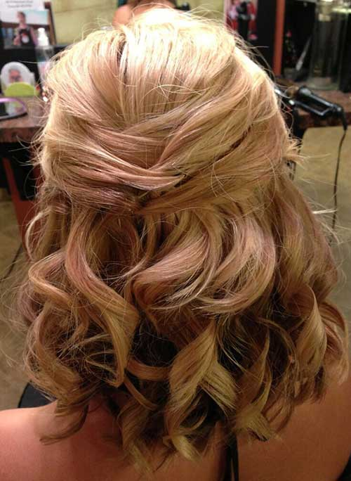 Half Down Half Up Hairstyles-13