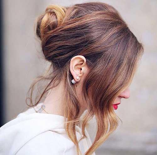 French Hair Bun-14