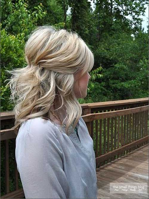 Half Down Half Up Hairstyles-16