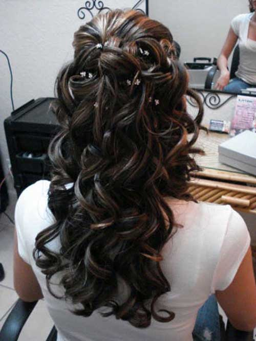 Half Down Half Up Hairstyles-19