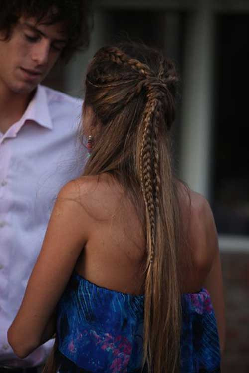 Half Down Half Up Hairstyles-20