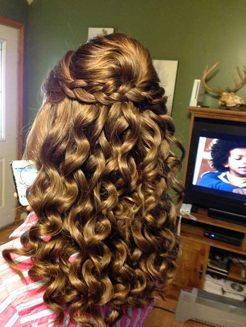 Half Down Half Up Hairstyles-6