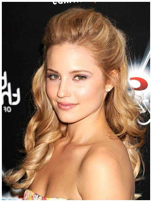 Half Down Half Up Hairstyles-7