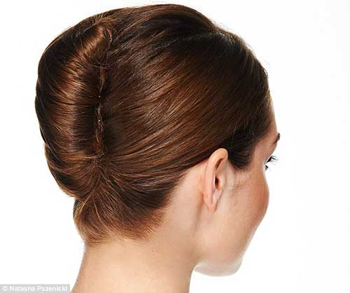 French Hair Bun-8