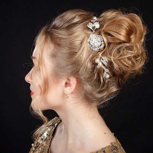 Hairstyle for Night Party-9