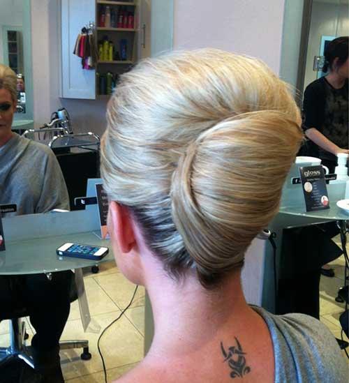 French Hair Bun