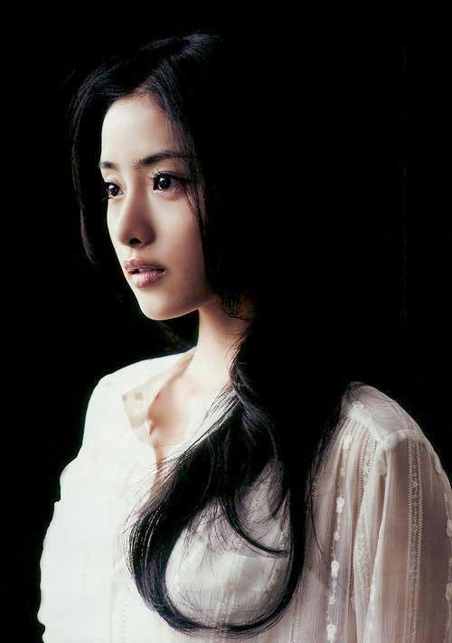 Asian Dark Long Hairstyles