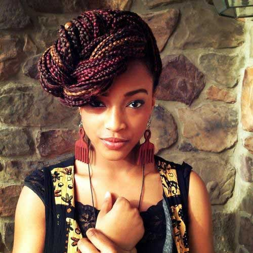 Awesome 20 Braids Hairstyles For Black Women Hairstyles Amp Haircuts 2016 Short Hairstyles Gunalazisus