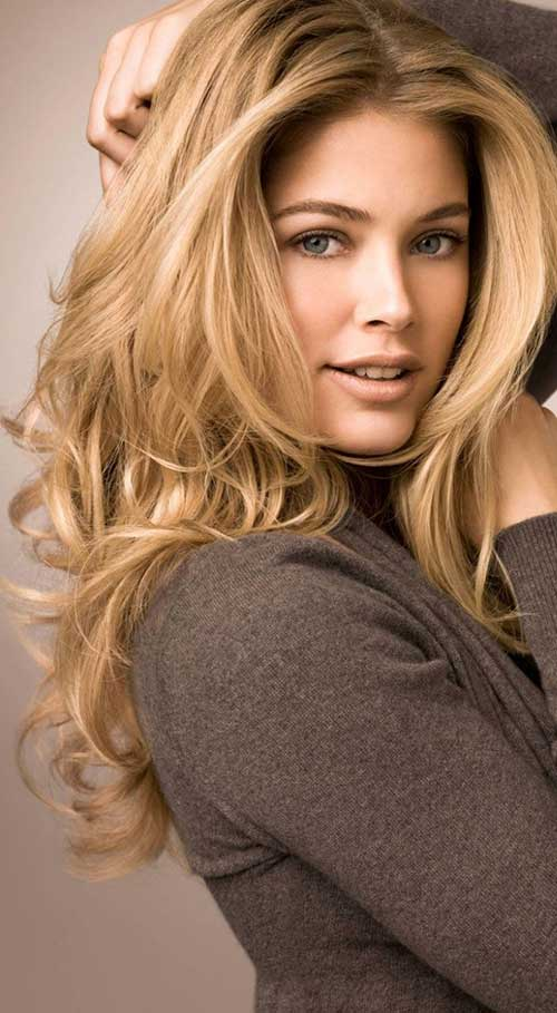 Beauty Blonde In Cold Colours Royalty Free Stock Images: Hairstyles & Haircuts 2016 - 2017