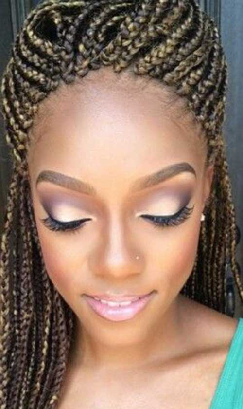 20+ Braids Hairstyles for Black Women Hairstyles & Haircuts 2016 ...